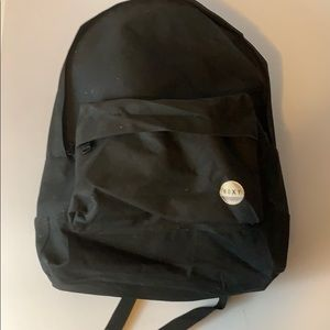 Roxy black canvas backpack Great 4 back  to school